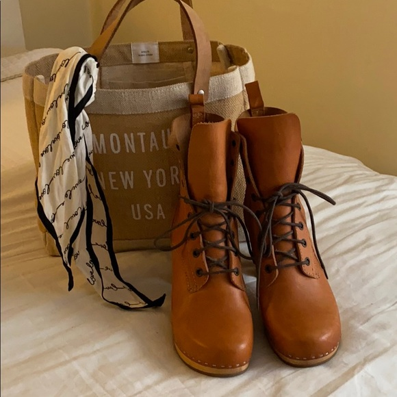 swedish hasbeens lace up boots